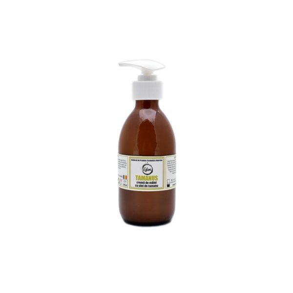 Tamanus - crema de maini cu ulei de tamanu, extract de ovaz si ulei esential de busuioc. Produs hand made, in Romania. KALARI - cosmetice naturiste.