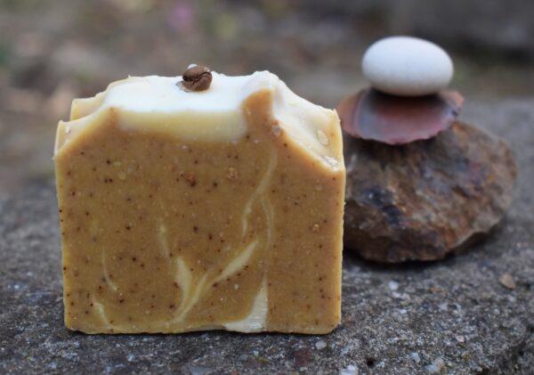 CAPPUCCINO - sapun natural handmade - cosmetice naturiste Kalari