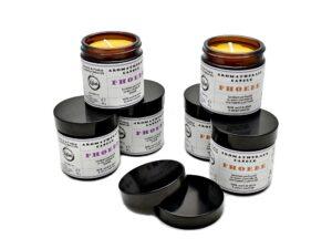 Phoebe - lumanare parfumata, 100% ceara de albine & uleiuri esentiale. Produs hand made, in Romania. KALARI - cosmetice naturiste - aromatherapy candle.