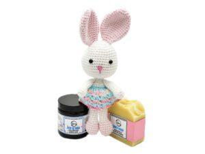 Happy Baby Care - set cosmetice pentru copii: crema de corp, sapun natural si jucarie. Produs hand made, in Romania. KALARI - cosmetice naturiste.
